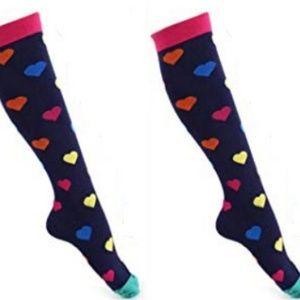 2 pair compression socks